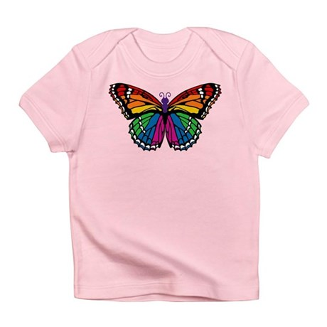 Rainbow Butterfly Infant T-Shirt