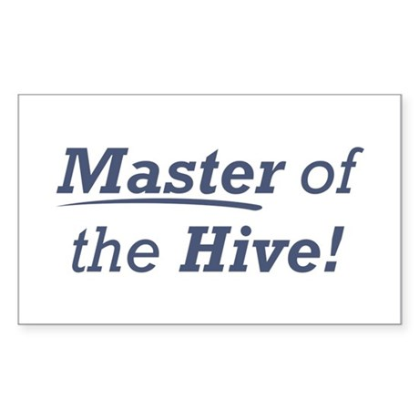 Master of the Hive Sticker (Rectangle)