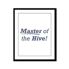Master of the Hive Framed Panel Print