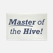 Master of the Hive Rectangle Magnet