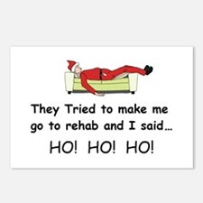 Funny Christmas Postcards (Package of 8)