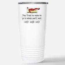 Funny Christmas Stainless Steel Travel Mug