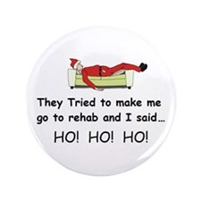 """Funny Christmas 3.5"""" Button (100 pack)"""