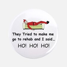 "Funny Christmas 3.5"" Button"