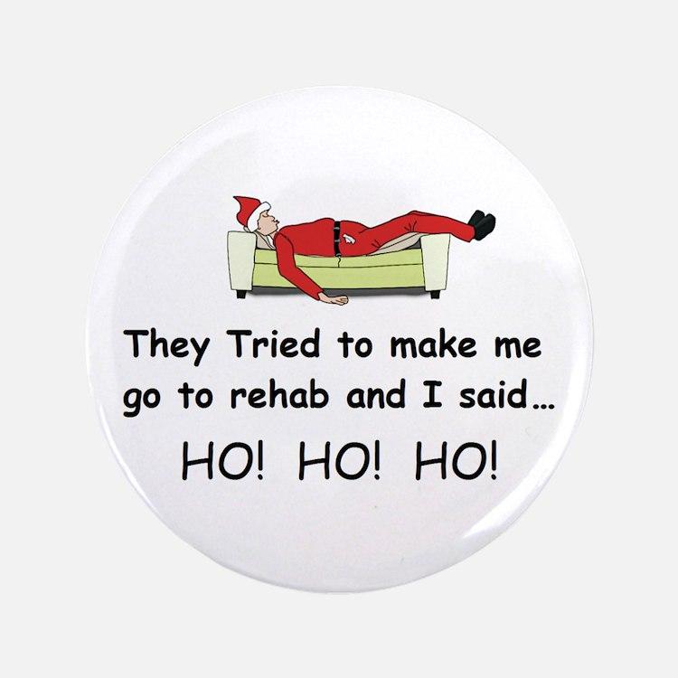 "Funny Christmas 3.5"" Button"