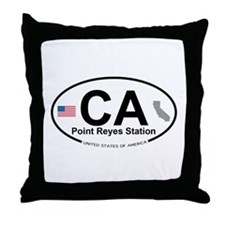 Point Reyes Station Throw Pillow