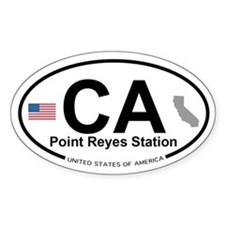 Point Reyes Station Decal