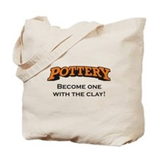 Pottery / Clay Tote Bag