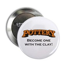 """Pottery / Clay 2.25"""" Button"""