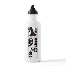 Eat Sleep Play Horn Water Bottle