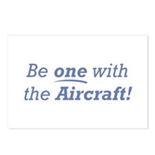 One with the Aircraft Postcards (Package of 8)