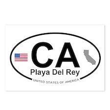 Playa Del Rey Postcards (Package of 8)