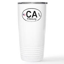 Pittsburg Travel Mug