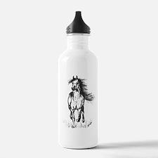 Runner Arabian Horse Water Bottle