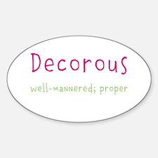 Decorous Decal