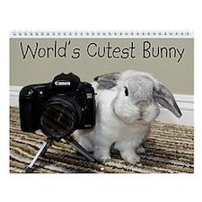 World's Cutest Bunny Wall Calendar