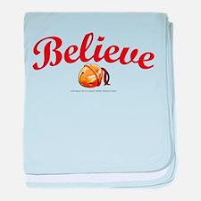 Believe 2 baby blanket