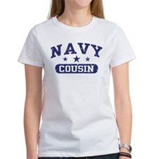 Navy Cousin Tee