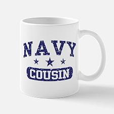 Navy Cousin Mug