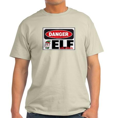 Elf with Attitude Light T-Shirt