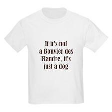 If it's not a Bouvier des Fla Kids T-Shirt