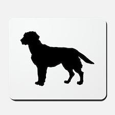 Labrador Retriever Silhouette Mousepad