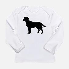 Labrador Retriever Silhouette Long Sleeve Infant T