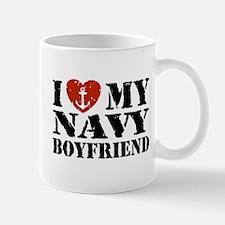 I Love My Navy Boyfriend Mug
