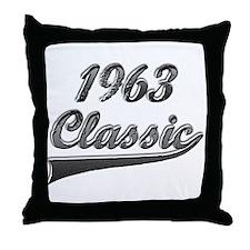 Cute 1963 Throw Pillow