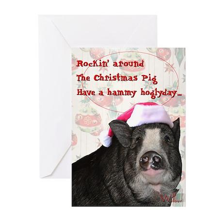 Piggy Christmas Cards (Pk of 20)