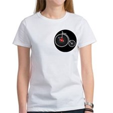 Unique Penny farthing Tee