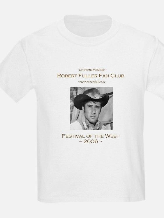 Robert Fuller Fan Club Kids T-Shirt