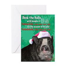 Piggy Christmas Card