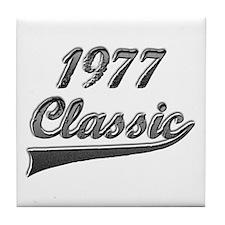 Cute 1977 Tile Coaster