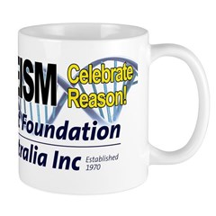 Celebrate Reason Double Helix Mug