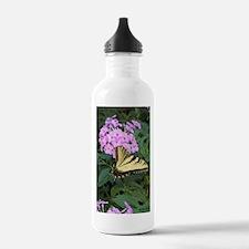 BUTTERFLY ON PHLOX Water Bottle