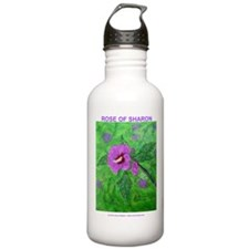 ROSE OF SHARON PAINTING Water Bottle