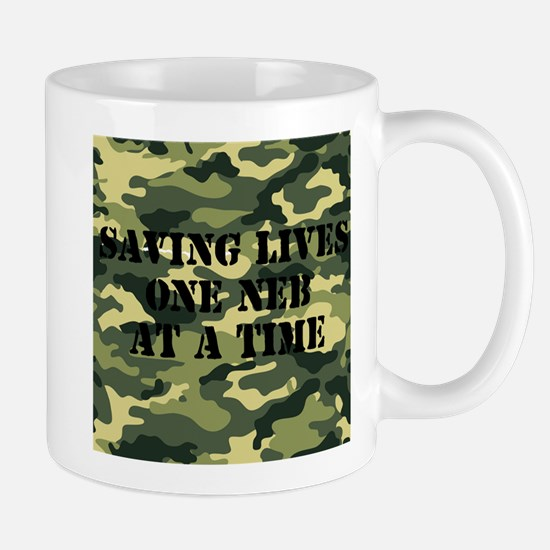 Camo Saving Lives Mug