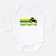 Tractor Rollin' Long Sleeve Infant Bodysuit