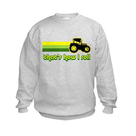 Tractor Rollin' Kids Sweatshirt
