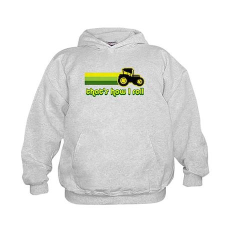 Tractor Rollin' Kids Hoodie