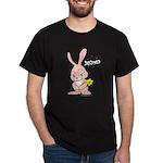Love Bunny Black T-Shirt
