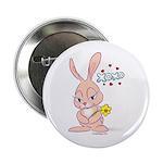 Love Bunny Button