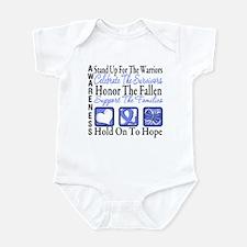 Esophageal Cancer Tribute Infant Bodysuit