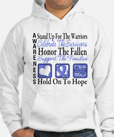 Esophageal Cancer Tribute Hoodie