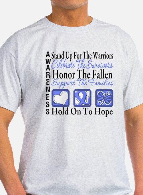 Esophageal Cancer Tribute T-Shirt