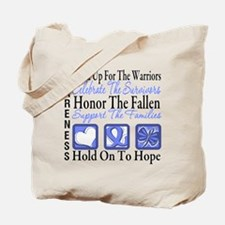 Esophageal Cancer Tribute Tote Bag