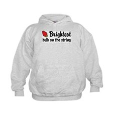 Brightest Bulb on the String Hoodie