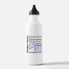 Esophageal Cancer Tribute Water Bottle
