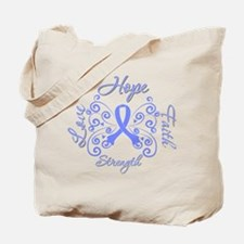 EsophagealCancer ButterflyHope Tote Bag